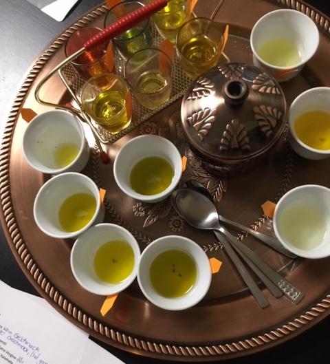 Ein anderer Extra VergineOlivenöl-Test